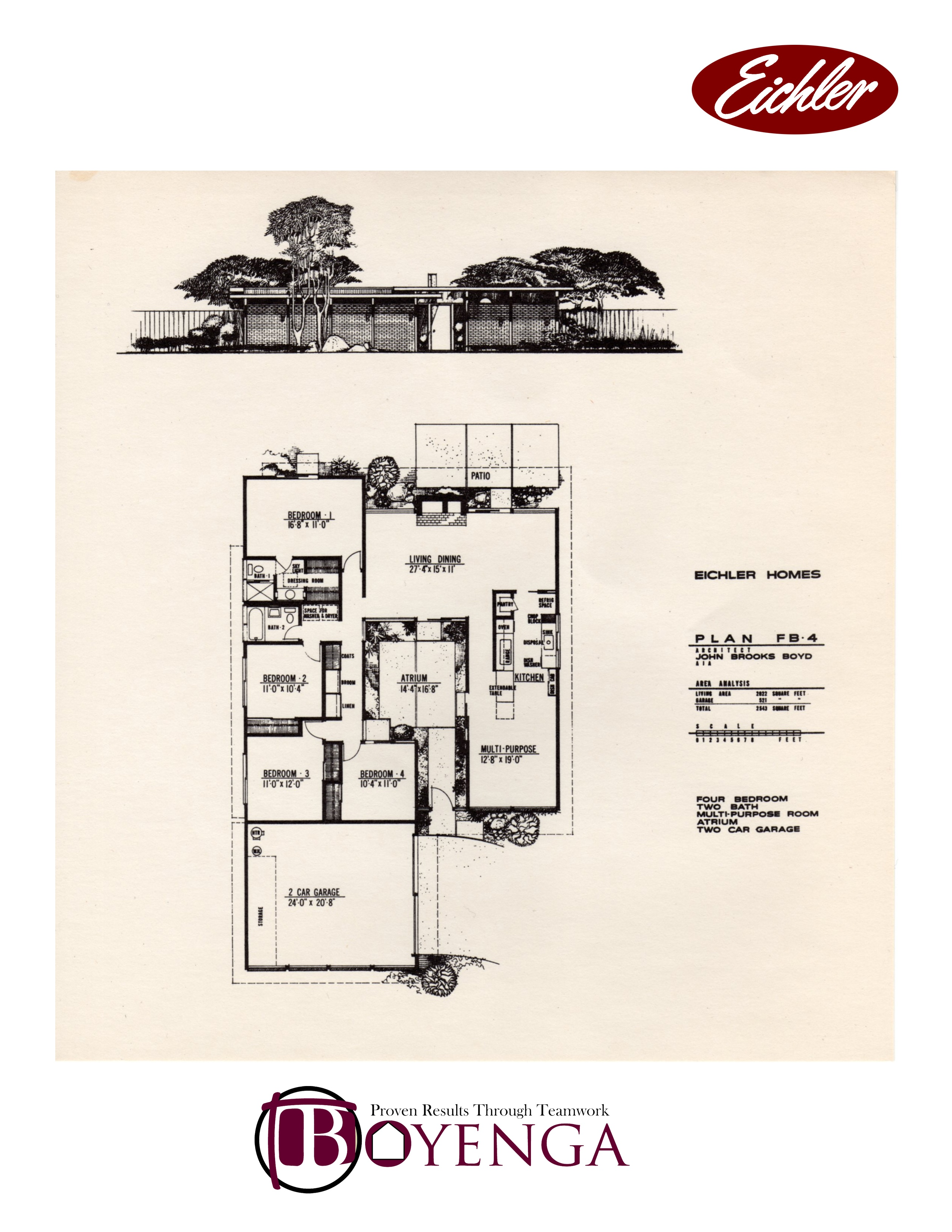 foster city eichler real estate floor plans foster city mid eichler floor plan fb 4